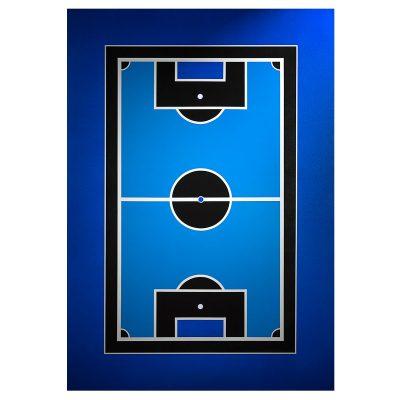 Blue Game - Cm. 100x70 - Acrylic on pvc
