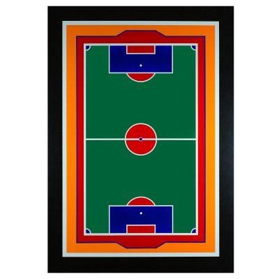 Green Game - Cm. 152x106 - Acrylic on pvc