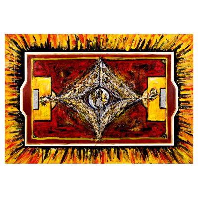 Kill Bill - Cm. 125.5x88.5 - Acrylic on wood