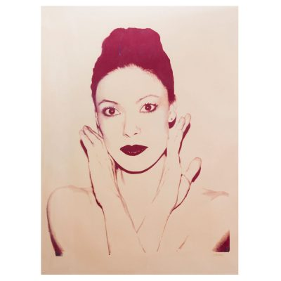 Andy Warhol - Karen Kain - Cm 121.9X91.7  - Screenprint on Paper
