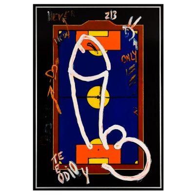 Men's Locker Nr. 1 - Cm. 152x106 - Acrylic