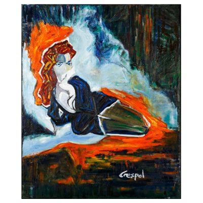 Paige – Cm. 102x127 - Oil on canvas