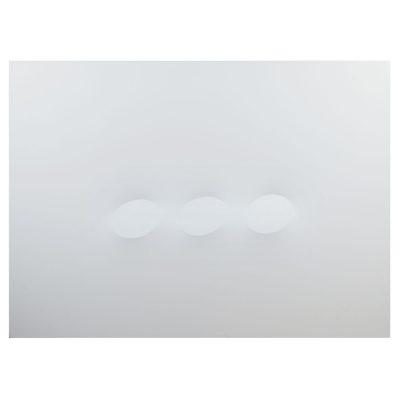 Turi Simeti - 3 ovali - Cm 180x130 - Acrylic on Canvas - 2016