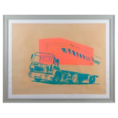 Andy Warhol - Truck - Cm 91.44x122.8 - Screenprint on Paper