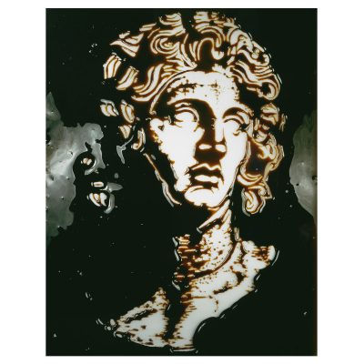Vik Muniz - Alexander the Great - Pictures of Chocolate - Edition AP1/3 - Dye Destruction -  Cm 152.5x101.5 - 2003
