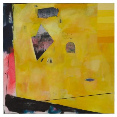 I+T - Inma Fierro - Cm 100x100 - Oil on Canvas - 2017