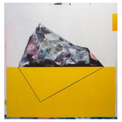 Iceberg - Inma Fierro - Cm 180x190 - Oil on Canvas - 2017