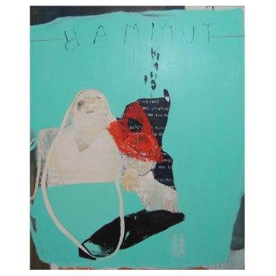Tu Mimar - Inma Fierro - Cm 160x190 - Mixed Media and Collage on Canvas - 2014