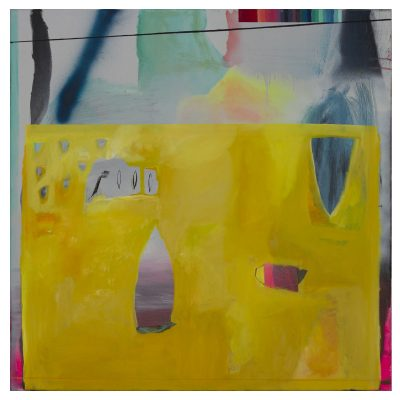 Utopia - Inma Fierro - Cm 100x100 - Oil on Canvas